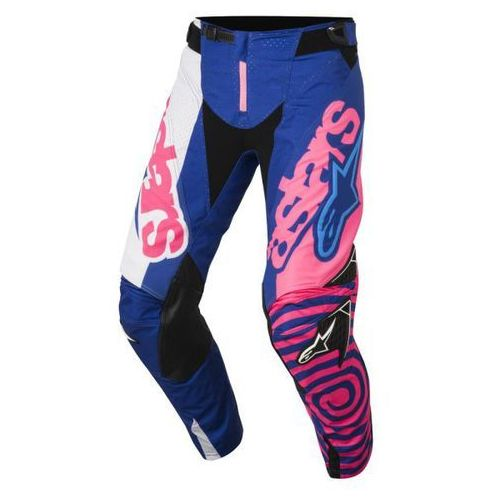 Spodnie alpinestars techstar venom s8 blue/pink/wh marki Alpinestars mx