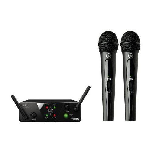 Akg wms40 mini dual vocal set us25 a/c mikrofon bezprzewodowy podwójny (537.500 i 539.300)