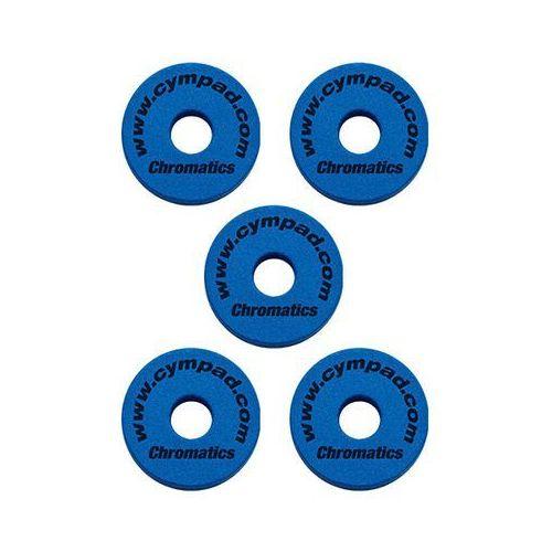 chromatic 40/15mm set blue podkładki do talerzy perkusyjnych (5 szt.), niebieskie marki Cympad