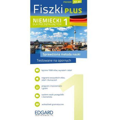 Fiszki Plus. Niemiecki dla początkujących 1, praca zbiorowa
