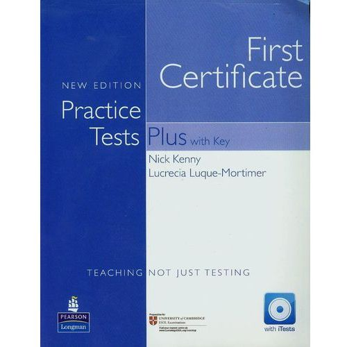 FCE Practice Tests Plus New Edition with Key plus iTest CD-ROM plus Audio CD