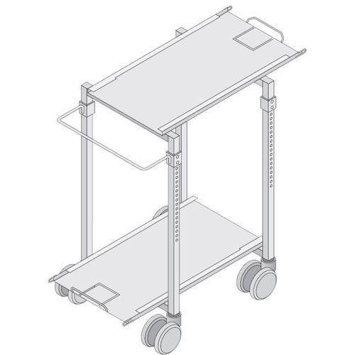 Rational Wózek transportowy to stelaży ruchomych z regulacją wysokości 9501330 mm | , 60.60.188