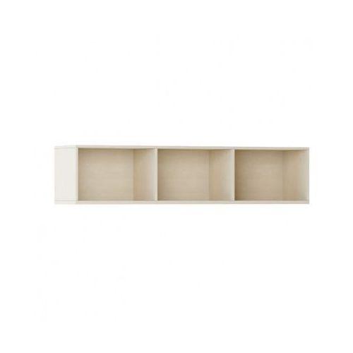 Biblioteka INTEGRO s półkami, niższa, 465 x 1750 x 400 mm, 3 półki, brzoza