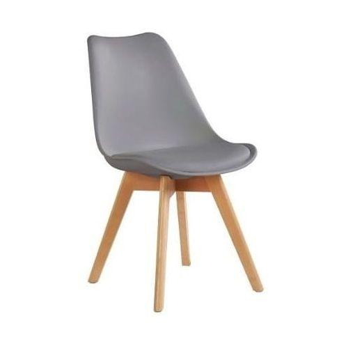 Krzeslaihokery Krzesło nordic szare