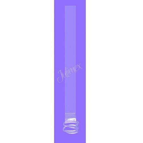 Ramiączka silikonowe rt 01,02,03 6-8-10mm 10mm, transparentny, julimex marki Julimex