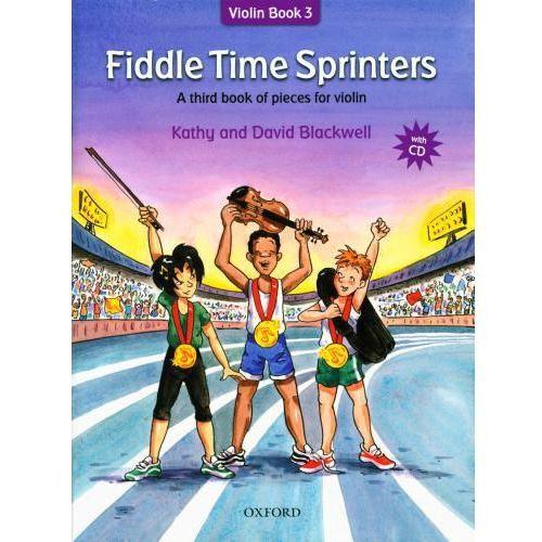 Pwm blackwell kathy, david - fiddle time sprinters. violin book 3 (utwory na skrzypce + cd)-nowe wydanie