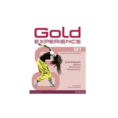 Gold Experience B1. Language and Skills Workbook, oprawa miękka