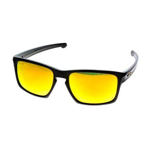 Oakley sliver vr46 polished black /fire iridium okulary