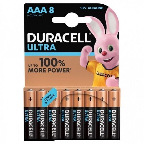 Baterie DURACELL Ultra Power AAA 8szt.