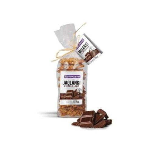 Naturavena Ciastka jaglane z czekoladą (5902367401863)