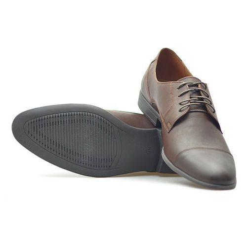 Pantofle 361/135/1 brązowe lico marki Madej