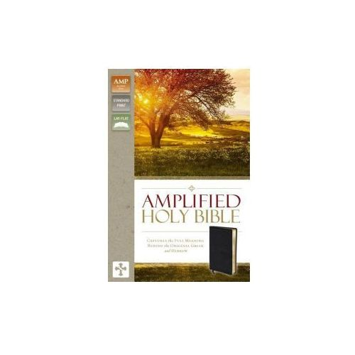 Amplified Holy Bible, Bonded Leather, Black (9780310443926)