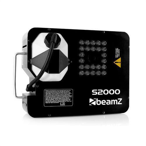 Beamz S2000 generator mgły,DMX,LED,530m³/min