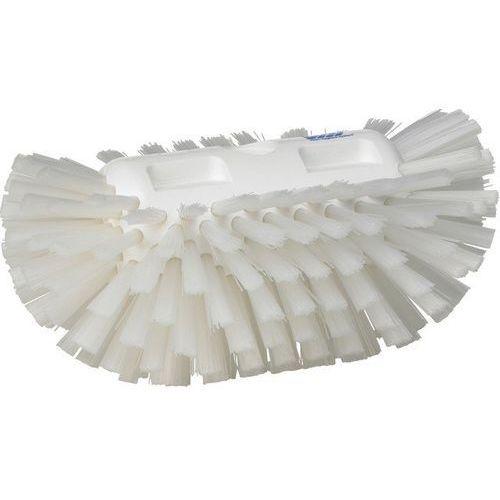 Vikan Szczotka do czyszczenia okrągłych zbiorników, twarda, biała, 205 mm,  70375