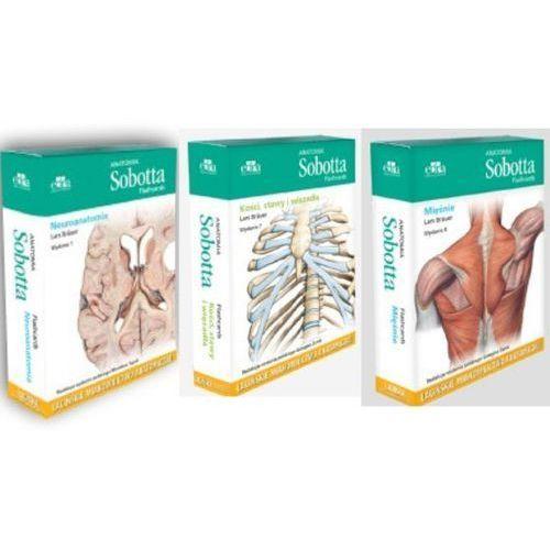 Anatomia Sobotta Flashcards. Mięśnie. Kości, stawy i więzadła. Neuroanatomia. Łacińskie mianownictwo anatomiczne