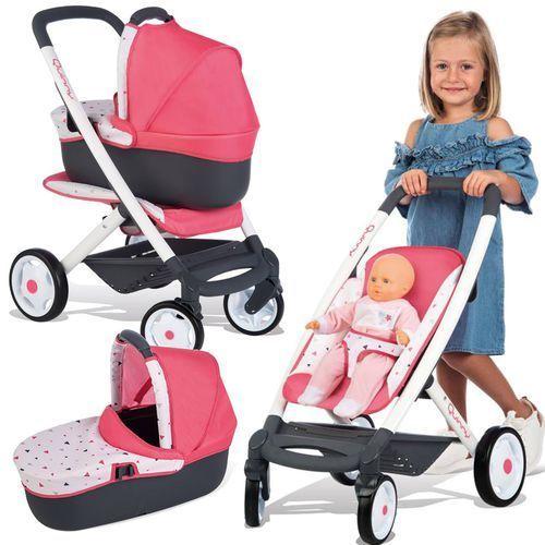 Smoby wózek wielofunkcyjny dla lalki maxi cosi (3032162531983)