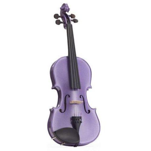 Stentor 1401DPE skrzypce 1/2 Harlequin, zestaw, lilowy
