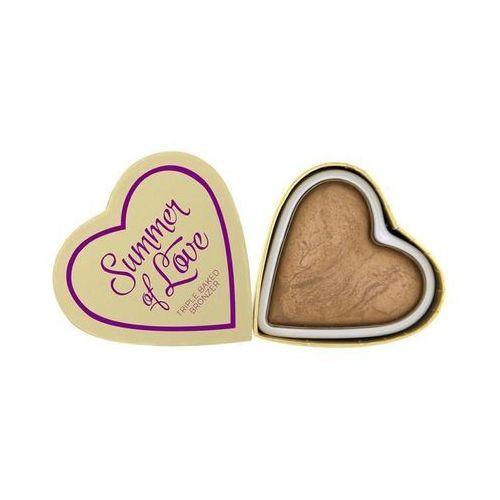 Triple Baked Bronzer puder brązujący Summer Of Love 10g - Makeup Revolution (5029066027023)