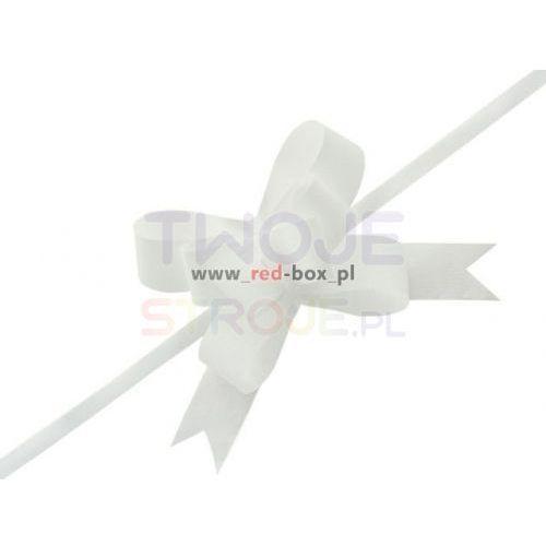 Wstążki ściągane białe 3cm 25szt marki Twojestroje.pl