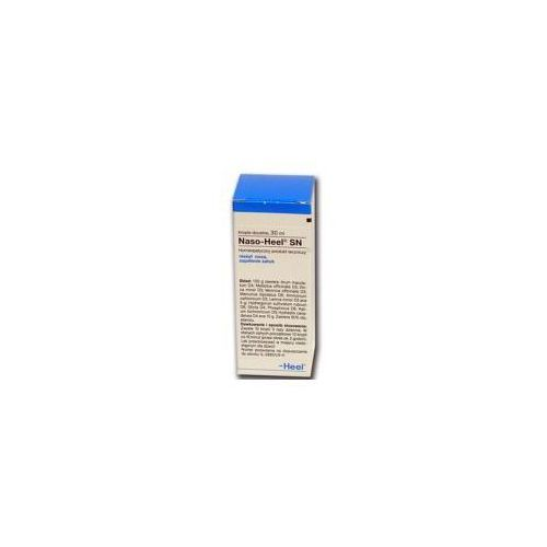 HEEL Naso Heel SNT krople doustne 30ml Kurier: 13.75, odbiór osobisty: GRATIS! (Homeopatia)