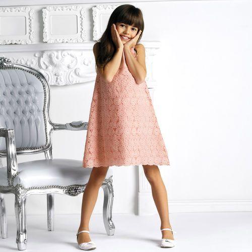 SUKIENKA BEZ RĘKAWÓW (sukienka dziecięca)