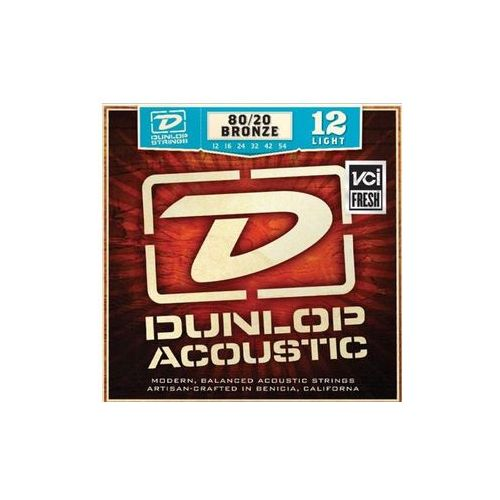 Dunlop dab1254 struny do gitary akustycznej 12-54
