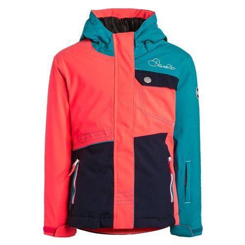 Dare 2B CRAZE Kurtka narciarska enamel/neon pink/peacoat blue z kategorii Kurtki dla dzieci