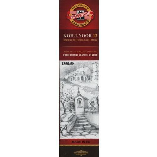 Ołówek grafitowy 1860 6h (12 szt.) marki Koh-i-nor