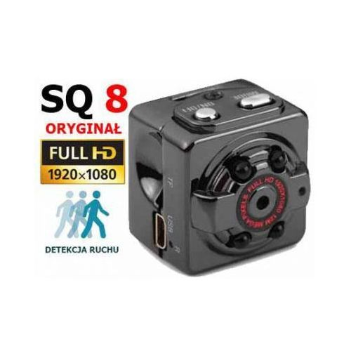 Mini Kamera SQ8 Szpiegowska Full HD 1080P, sq8minihd