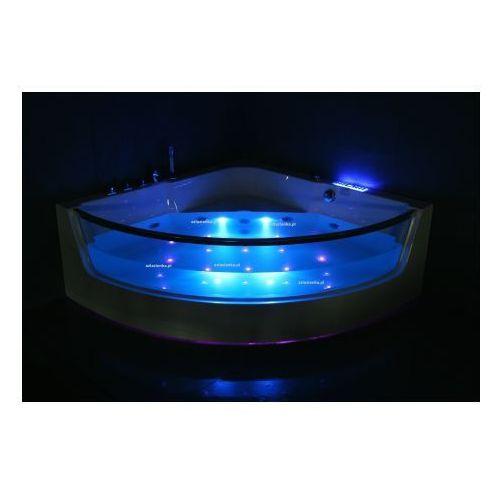 Wanna cf-3131 narożna 150cmx150cmx59cm z podgrzewaczem od producenta Aquaholm