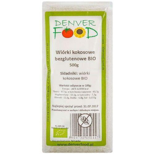 Denver food ul. pogodna 11, 84-240 reda, polska dystrybutor: denver fo Wiórki kokosowe bezglutenowe 500g - denver food eko