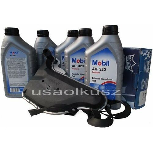 Filtr oraz olej skrzyni biegów Mobil ATF320 Chevrolet Lumina APV 3,4 / 3,8