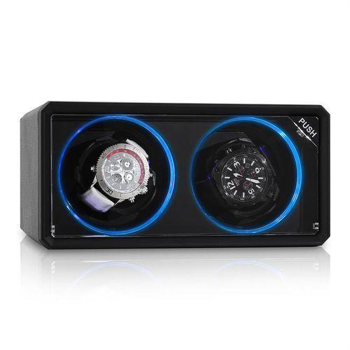 Klarstein Rotomat 8led2s 2 zegarki czarny led