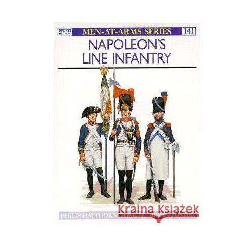 Napoleon's Line Infantry (M-a-A #141), oprawa miękka