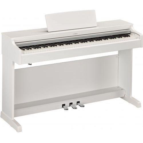 Yamaha YDP 163 White Arius pianino cyfrowe, kolor biały