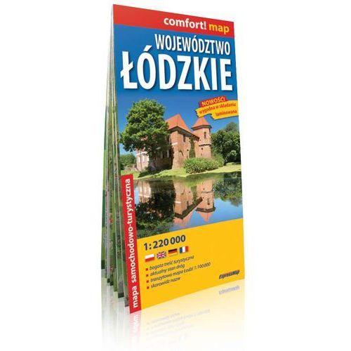 Województwo Łódzkie 1:220 000. Laminowana mapa samochodowo-turystyczna. ExpressMap (2 str.)
