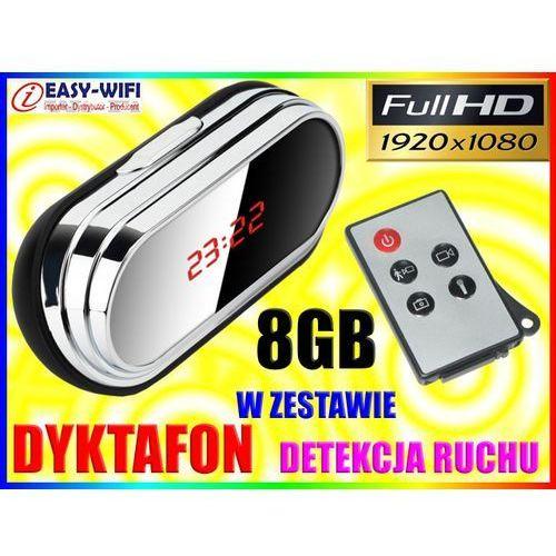 ZEGAR SZPIEGOWSKI MINI UKRYTA KAMERA FULL HD PILOT + 8GB - oferta (05eddc4f03bfd4f7)