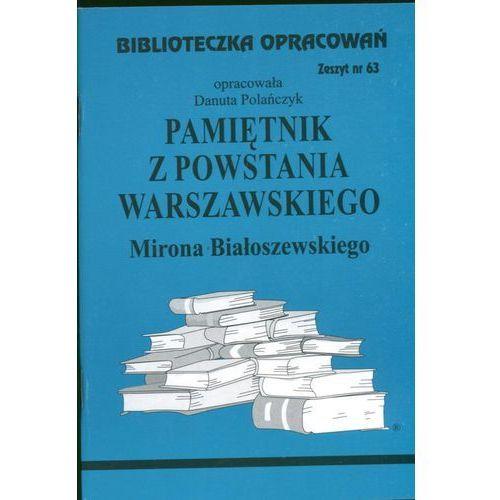 Biblioteczka Opracowań Pamiętnik z Powstania Warszawskiego Mirona Białoszewskiego (2010)