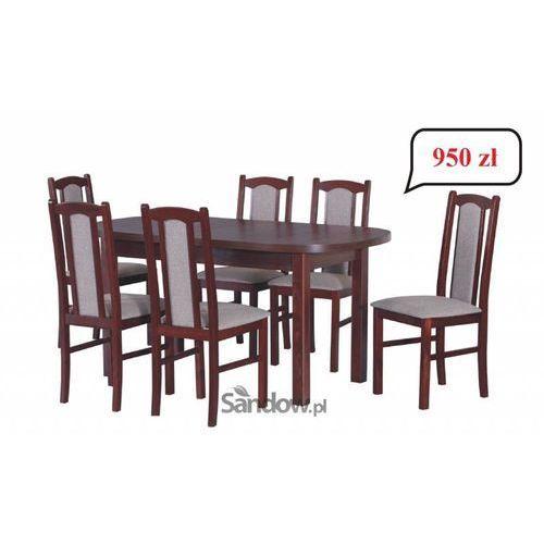 PROMOCJA wybrana kolorystyka w atrakcyjnej cenie stół z 6 krzesłami TRANSPORT GRATIS - produkt dostępny w Sandow.com