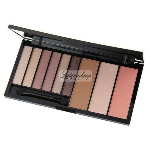 Makeup Revolution Palette Euphoria Bare Zestaw do makijażu oczu i twarzy 1op (5029066040428)