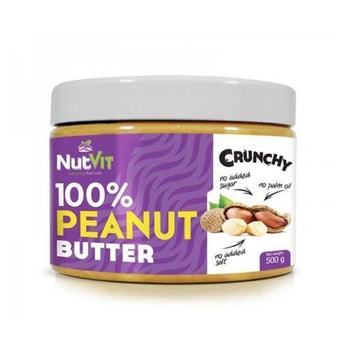 OSTROVIT NutVit 100% PEANUT BUTTER 500 G Crunchy (5902232610024)