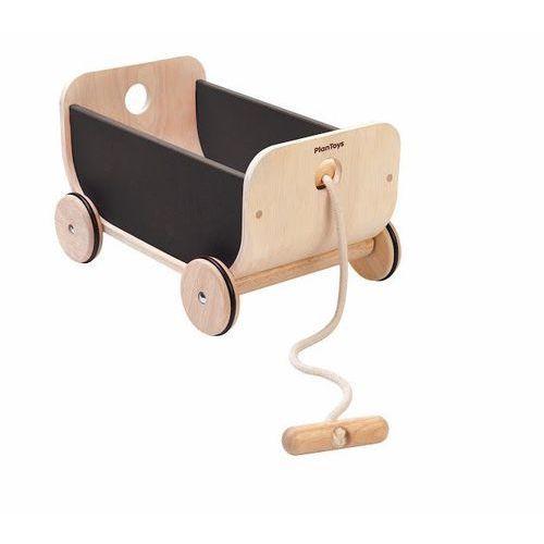 Plan Toys, Wózek, wagon czarny - produkt z kategorii- Wózki dla lalek