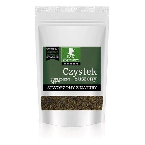 Pan Zdrówko Czystek suszony - Herbata - 100g