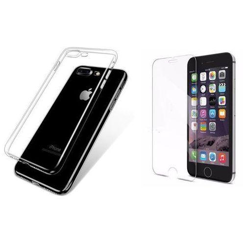 Ultra slim / perfect glass Zestaw | ultra slim przezroczysty | obudowa + szkło ochronne perfect glass dla apple iphone 7 plus / iphone 8 plus