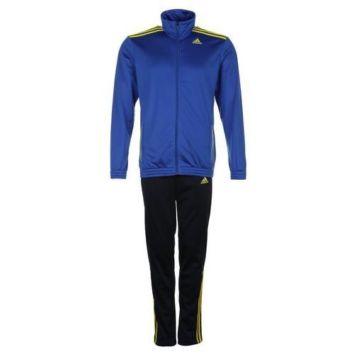 adidas Performance ENTRY Dres blue/core navy/yellow - produkt z kategorii- dresy męskie komplety