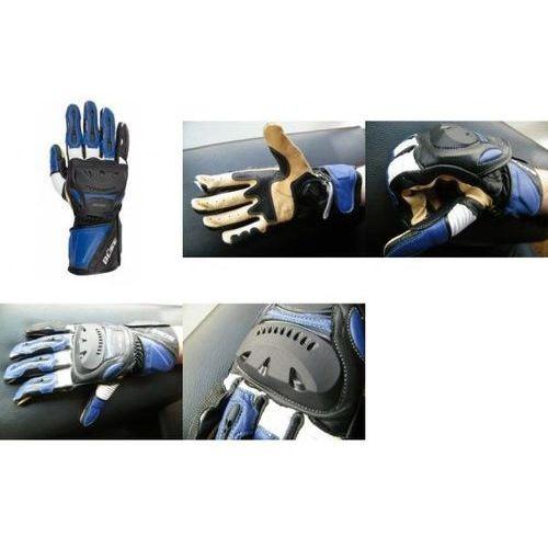 Rękawice motocyklowe BUSE Superbike niebieskie