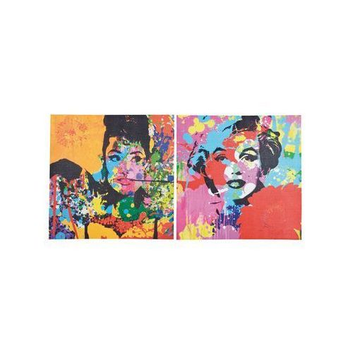 Kare Design Pop Art & Fun Pop Icons 50x50 Obraz (31423) (obraz)