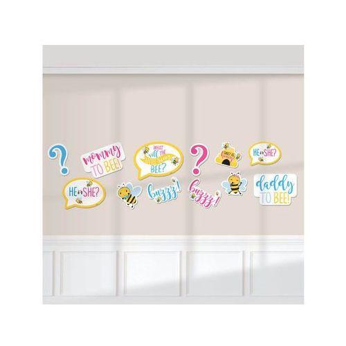 Zestaw dekoracji na ścianę What Will It Bee? - 12 elem.