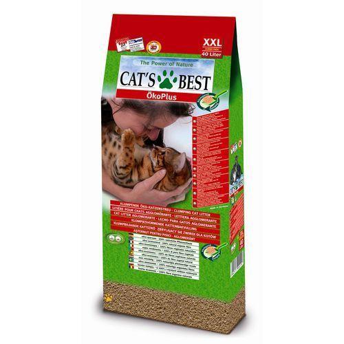 Cat's best eko plus żwirek dla kota 40l (4002973000199)