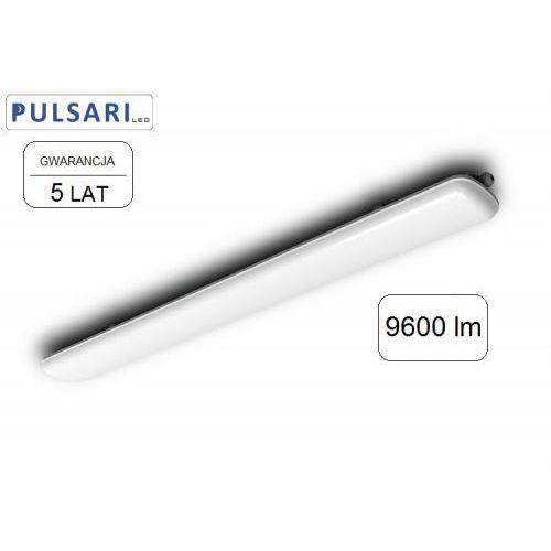 Lampa liniowa hermetyczna 80w hermetic led 120lm/w gw. 5 lat marki Pulsari